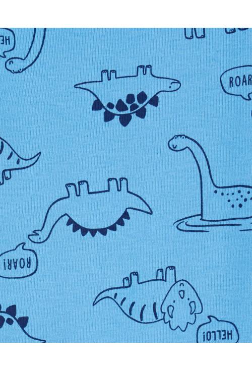 Carter's 3 db-os Dinoszaurusz body, póló és hosszú nadrág