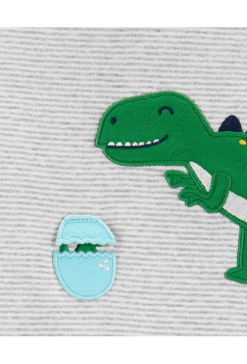 Carter's 2 db-os Dinoszaurusz mintás nadrág & body szett