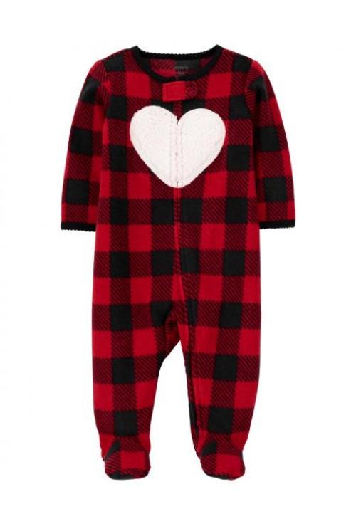 Carter's Csíkos szív mintás pizsama