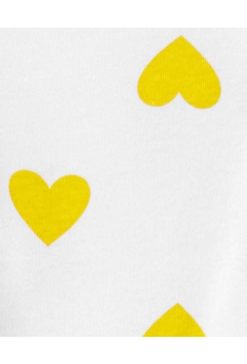 Carter's 3 Db-os Szívecskés mintás nadrág és 2 body szett