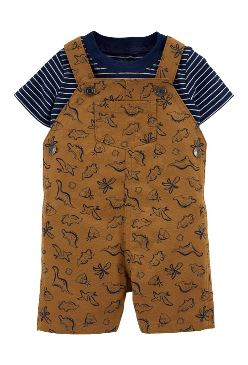 Carter's 2 darabos Dinoszauruszos trikó és overál szett