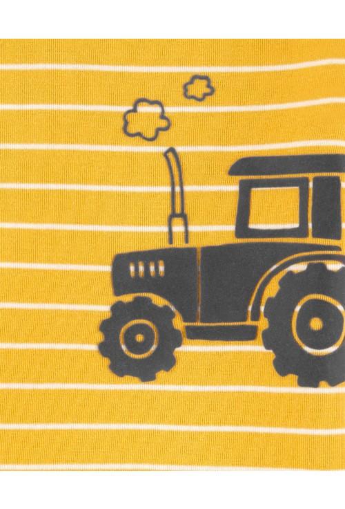 Carter's 2 részes Traktor mintás body és nadrág szett