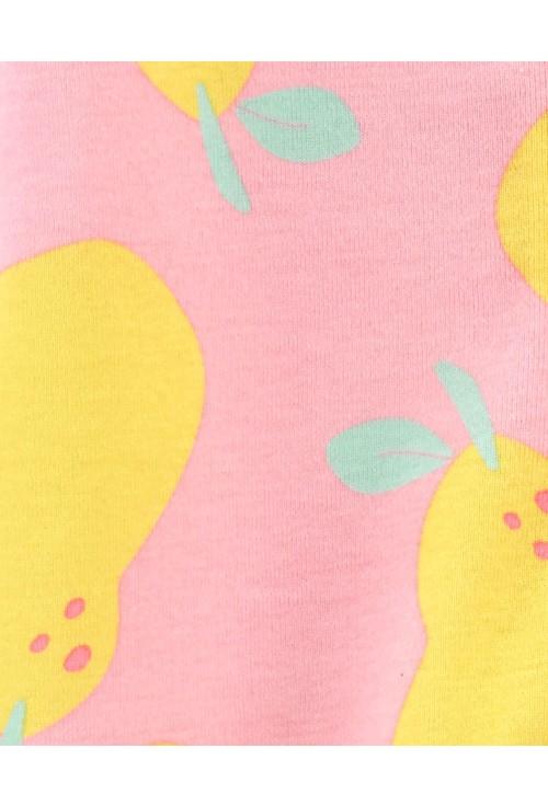 Carter's Rozsaszín kőrte pizsama