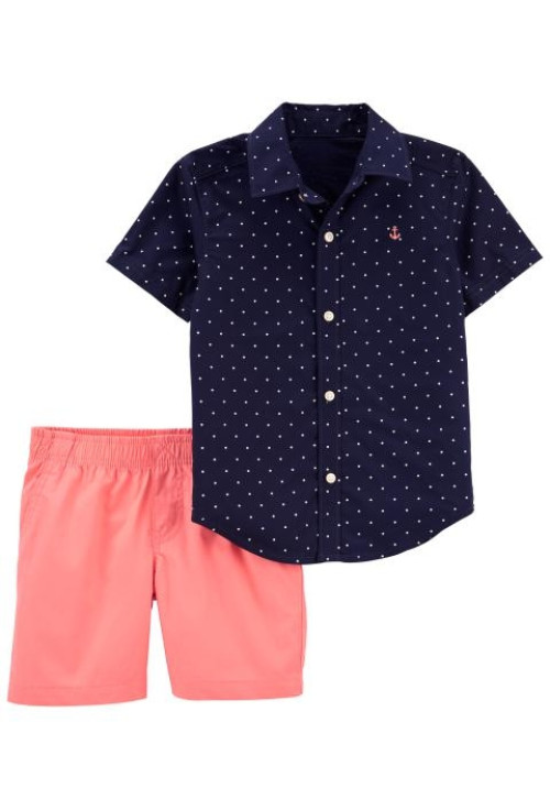 Carter's 2 darabos ing és rövid nadrág szett