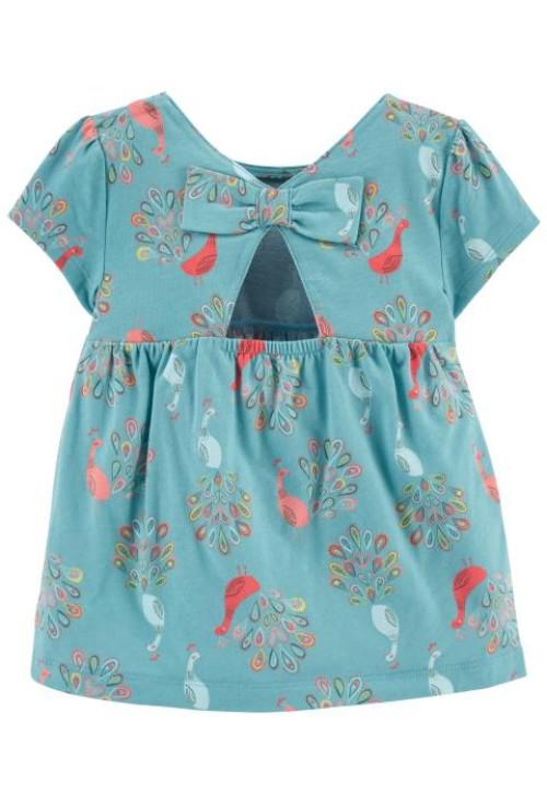 Carter's páva mintás ruha