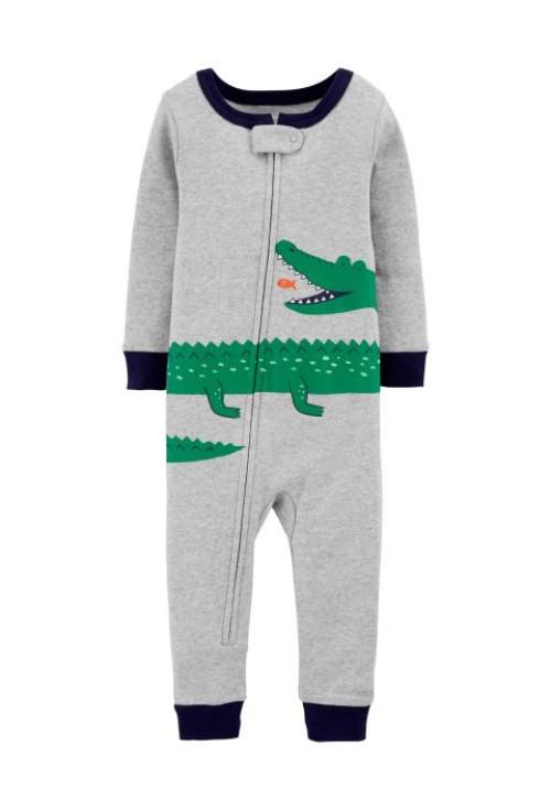 Carter's Cipzáros aligátoros pizsama