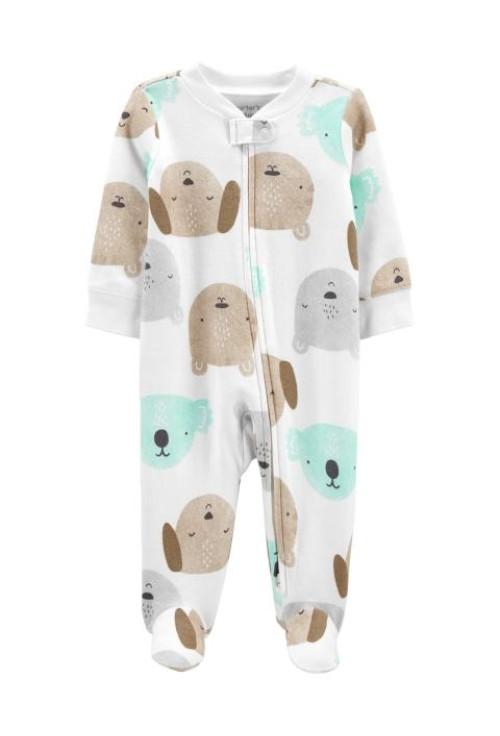 Carter's megforditható koala mintás cipzáros pizsama