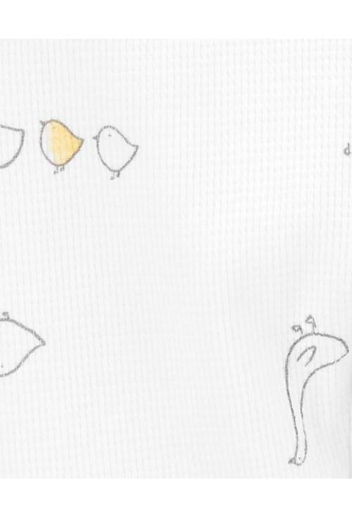 Carter's Cipzáros pizsama kacsa mintás