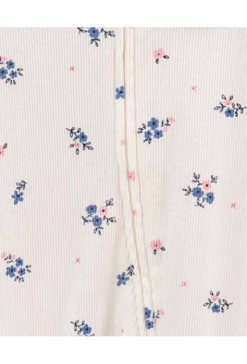 Carter's Cipzáros pizsama virágos