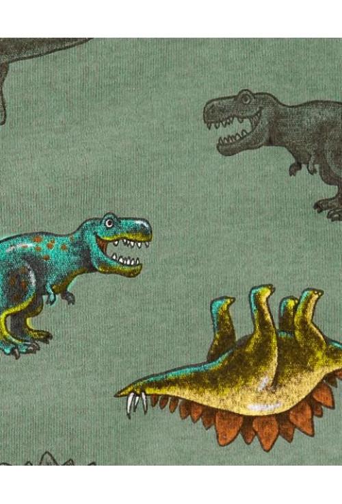 Carter's cipzáros pizsama dinoszauruszos