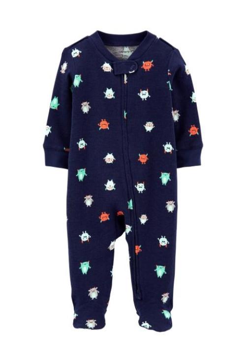 Carter's Cipzáros pizsama szörnyeteg mintás