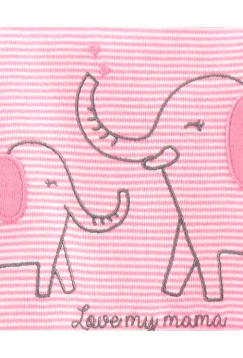 Carter's 3 darabos 2 body és nadrág szett elefánt mintás