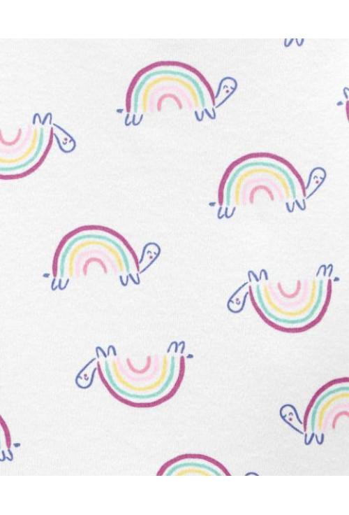 Carter's 2 darabos pizsama szett szivárvány mintás