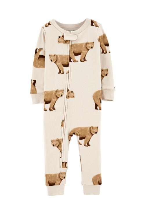 Carter's cipzáros pizsama macis
