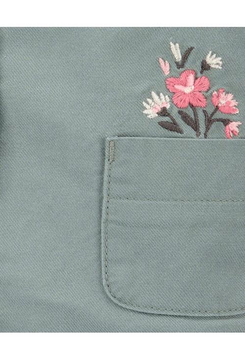 Oshkosh dzseki virágokkal