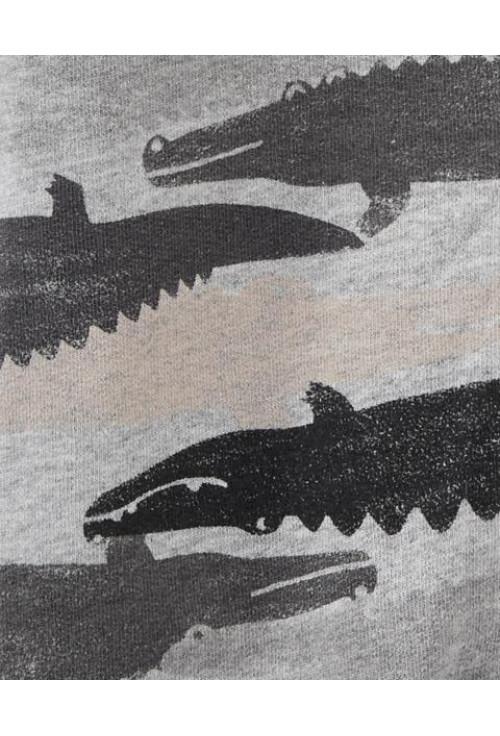 Carter's overál krokodil mintás