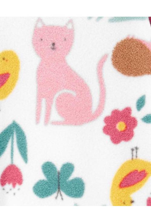 Carter's állatos pizsama fleece