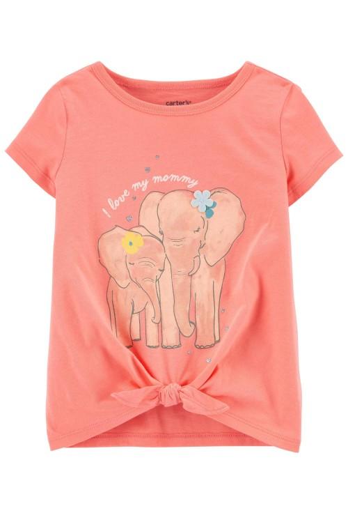 Carter's Elefántmintás trikó