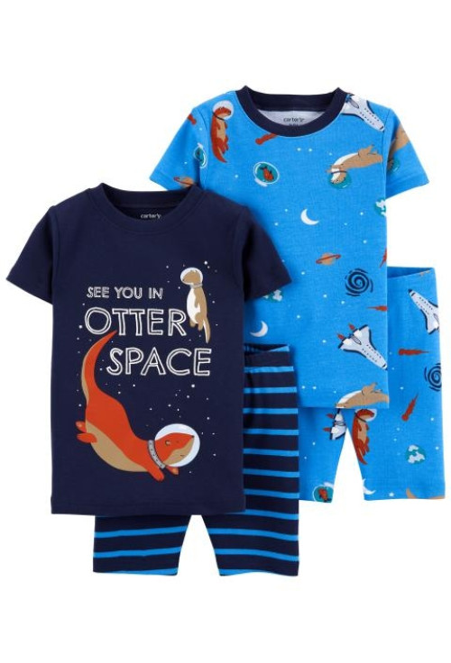 Carter's 2 darabos űrhajos pizsama szett