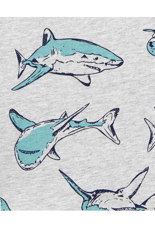 Carter's 2 darabos cápás ujjatlan trikó szett