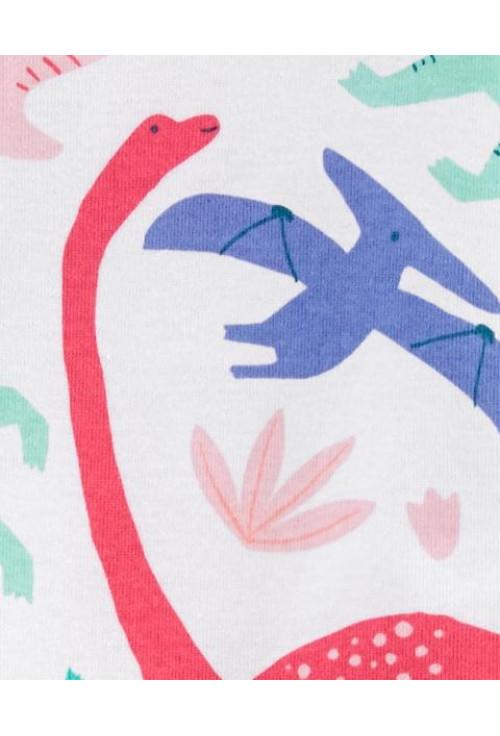 Carter's cipzáros pizsama dinós