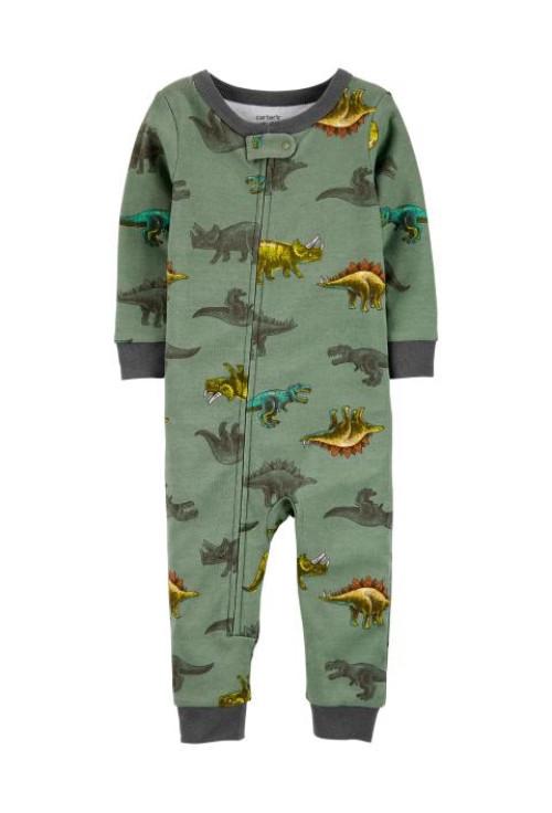 Carter's cipzáros pizsama dinos