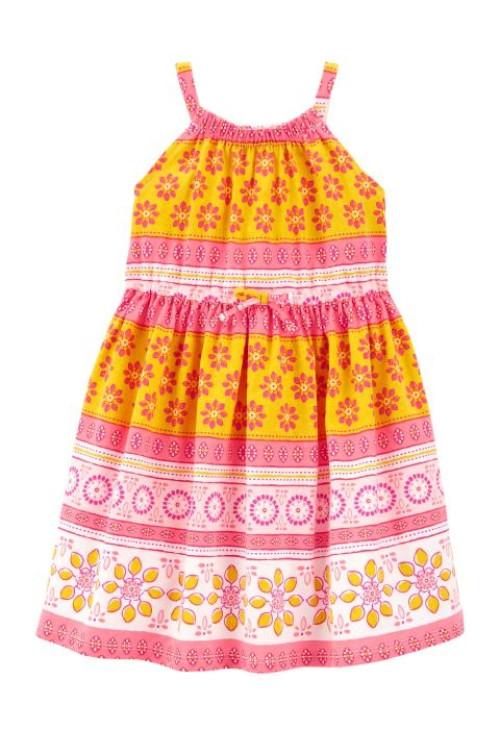 Carter's színes virágos ruha