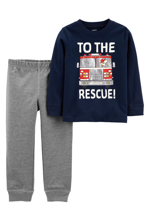 Carter's 2 darabos nadrág és blúz szett tűzoltó