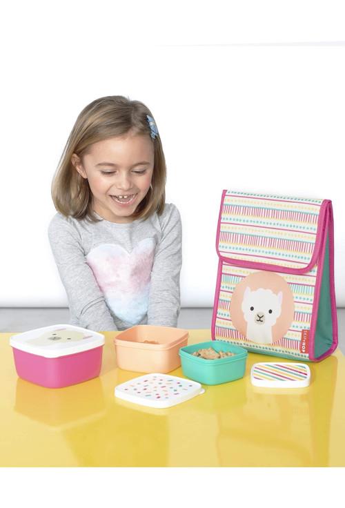 Skip Hop Zoo 3 dobozos készlet ebédre - Láma
