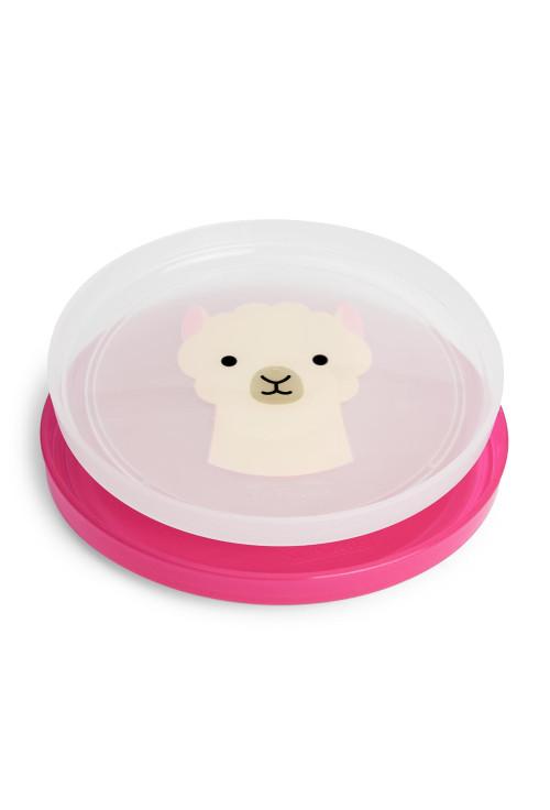 Skip Hop Zoo csúszásgátló tányér szett - Láma