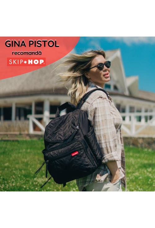 Skip Hop pelenkázó hátitáska - Forma fekete
