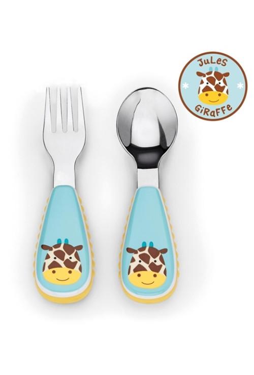 Skip Hop Zoo evőeszköz - Zsiráf
