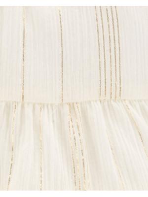 Oshkosh Elegáns ruhácska arany színű csíkokkal