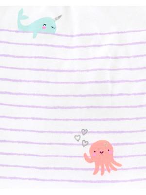 Carter's 3 darabos tengeri lények, nadrág, trikó & body csomag