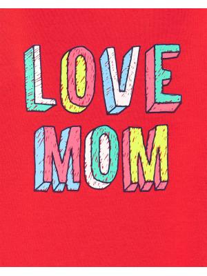 Carter's Szeretem anyát mintás body