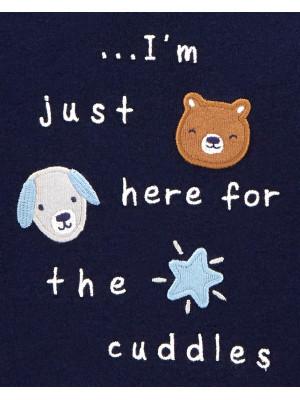 Carter's 2 db-os Kutya mintás pizsama szett