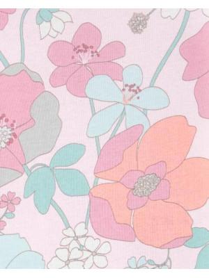 Carter's 3 darabos Virágmintás body szett