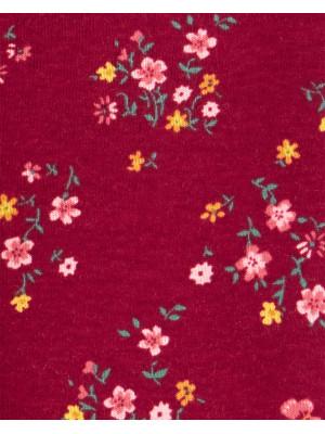 Carter's 4 db-os Virág mintás baba body szett