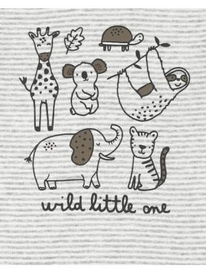 Carter's 3 db-os pizsama szett és sapka