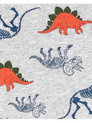 Carter's 2 darabos Dinoszaurusz mintás body és nadrág szett