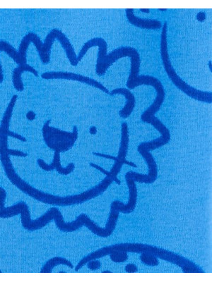 Carter's 2 darabos oroszlánmintás pizsama szett