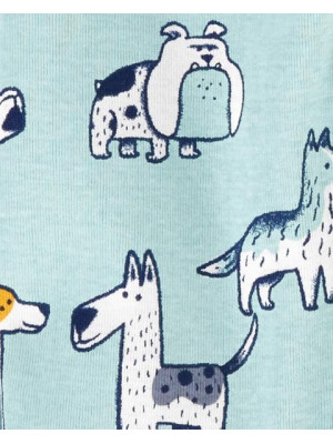 Carter's 2 darabos kutya mintás pizsama szett