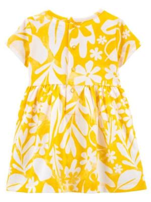 Carter's sárga ruha modellel