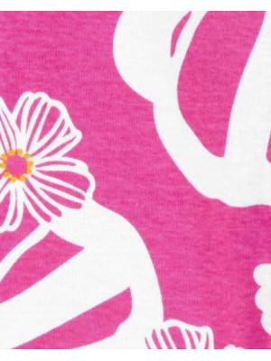 Carter's patentos pizsama virágokkal