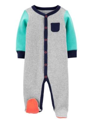 Carter's patentos színes pizsama