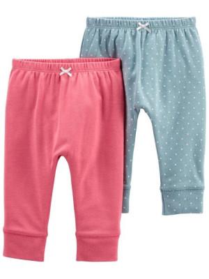 Carter's 2 darabos nadrág rózsaszín és pöttyös szett