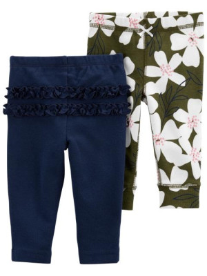 Carter's 2 darabos nadrág szett virágos