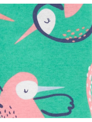 Carter's Kolibri mintás cipzáros pizsama