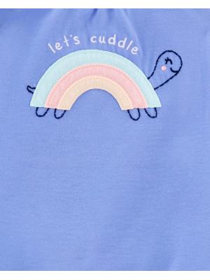 Carter's 3 darabos szivárványos pizsama szett