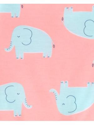 Carter's 3 darabos elefántos pizsama szett